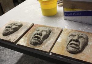 Casting Beeswax Sculptures, Clara Lieu