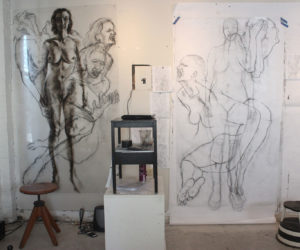 Figure Drawings, Clara Lieu