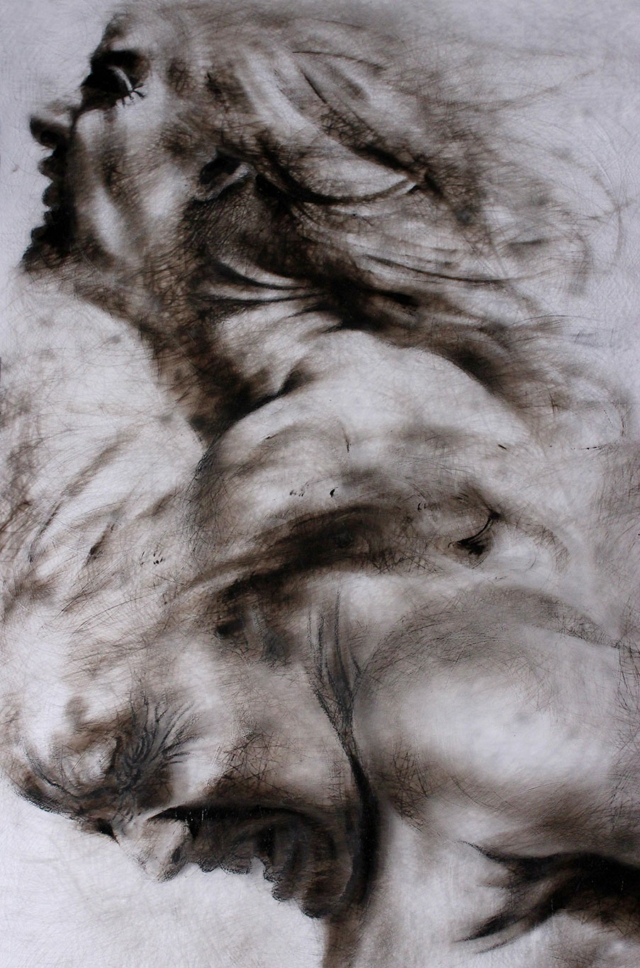 Etching Ink Drawing, Clara Lieu