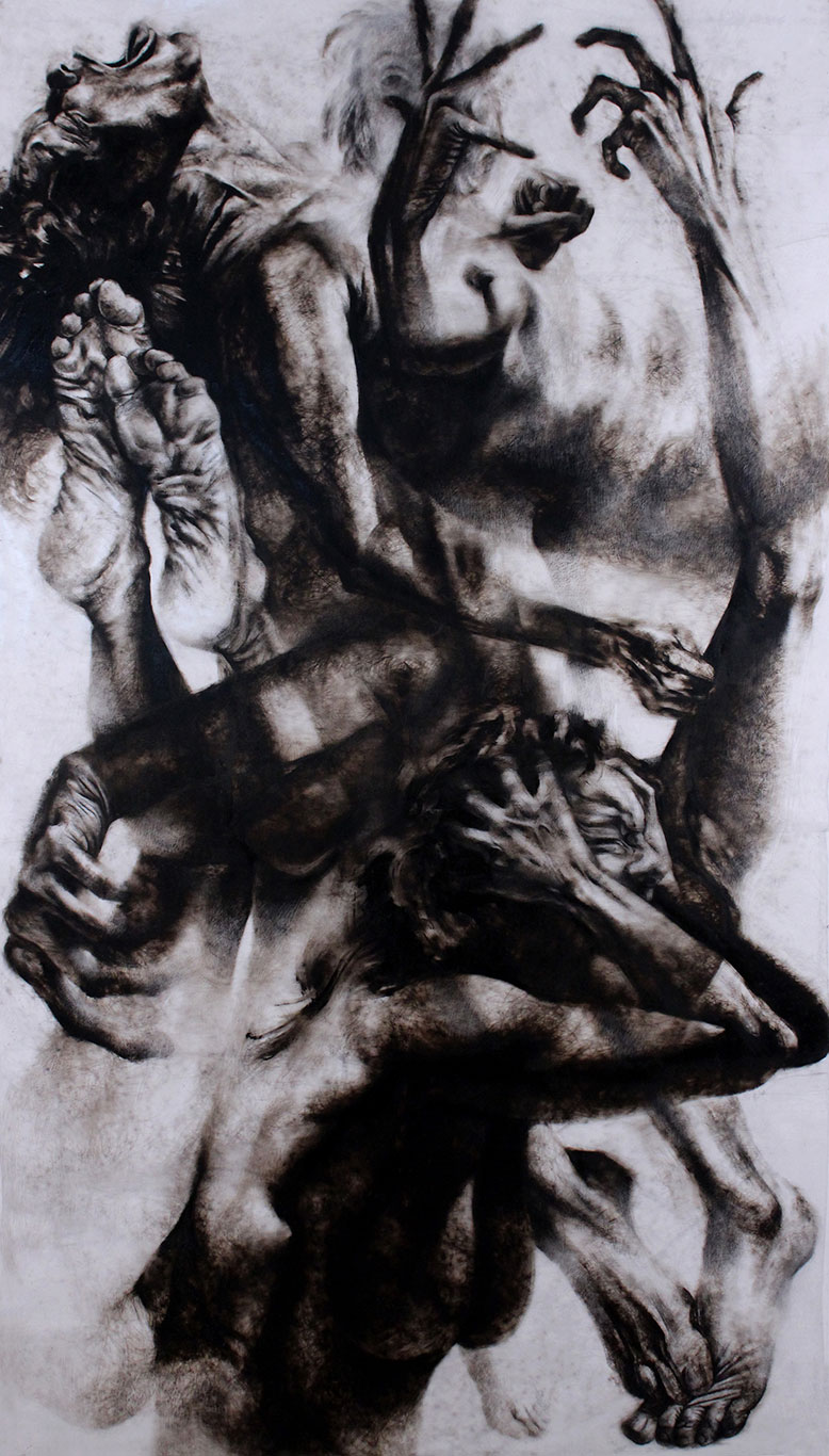 Etching Ink Drawing, Clara Lieu