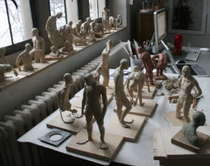 Clay Sculptures, Clara Lieu